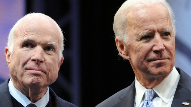 Joe Biden und John McCain