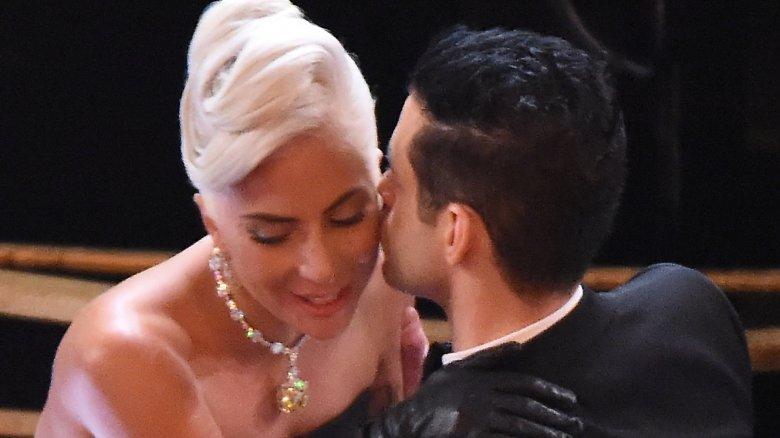 Lady Gaga und Rami Malek bei den Oscars