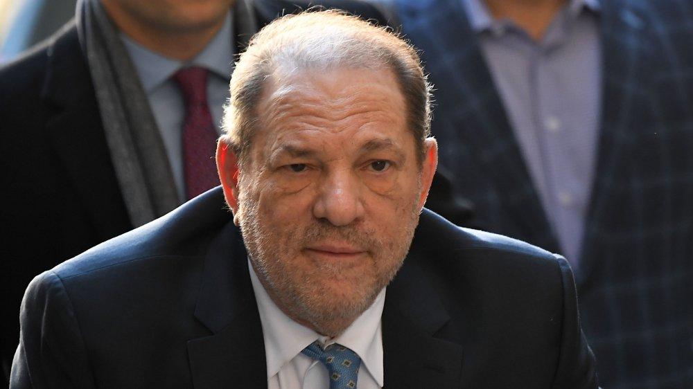 Harvey Weinstein außerhalb des Gerichts