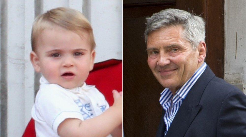 Prinz Louis und Michael Middleton