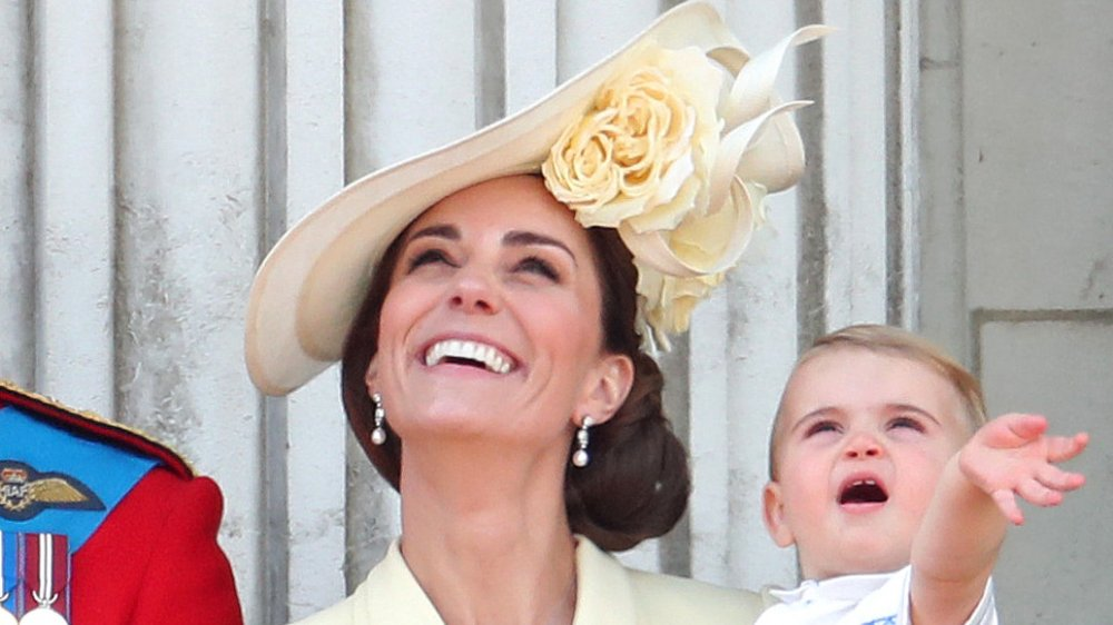 Kate Middleton und Prince Louis