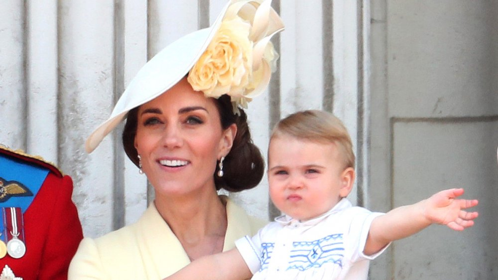 Kate Middleton und Prince Louis