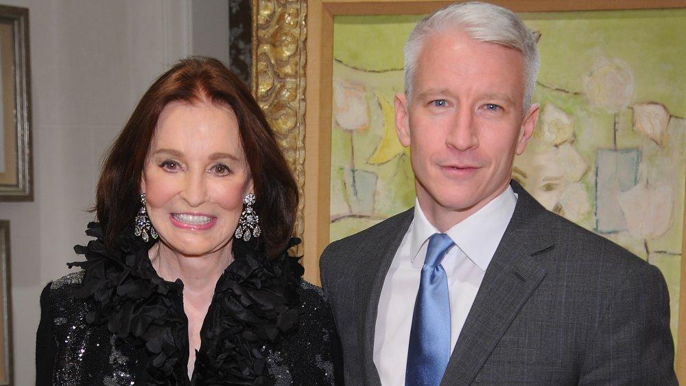 Anderson Cooper mit Mutter Gloria Vanderbilt