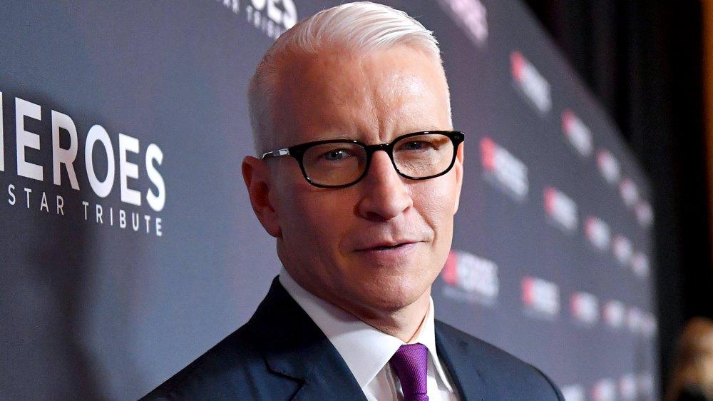 Anderson Cooper hält Sohn Wyatt
