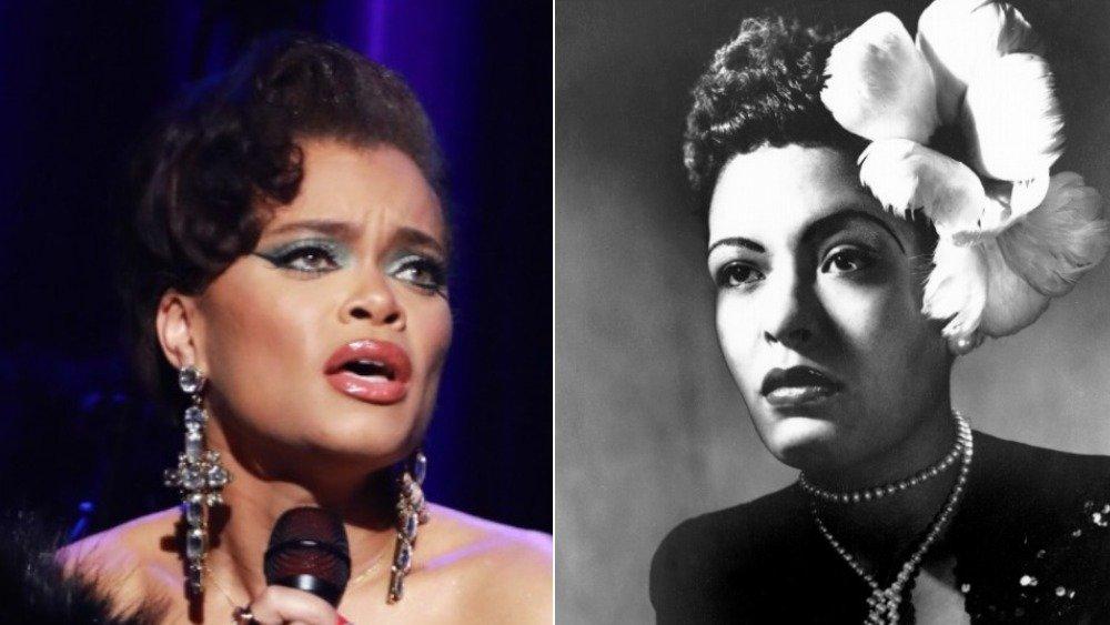 Andra Day, Billie Holiday Seite an Seite Bild