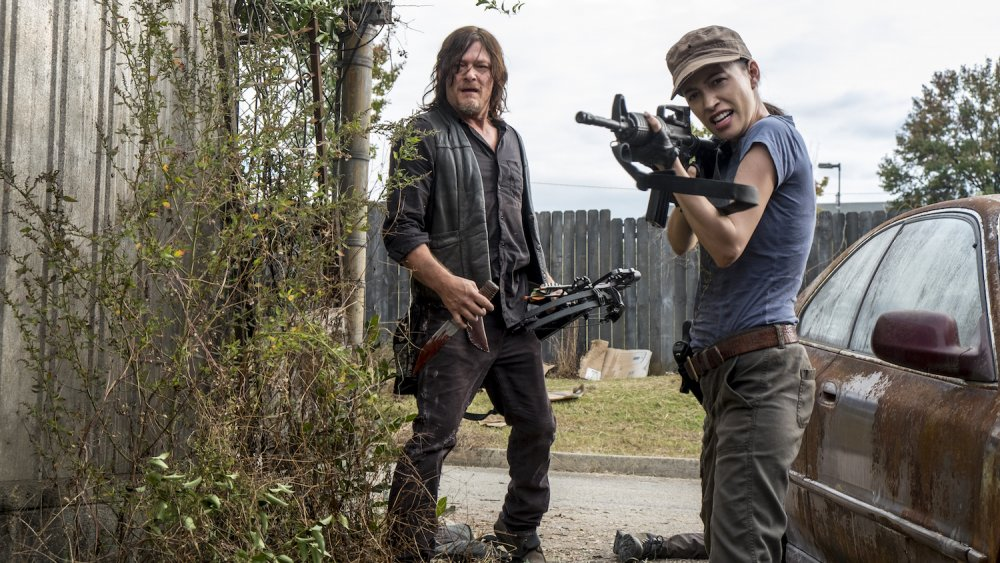 Norman Reedus und Christian Serratos über The Walking Dead