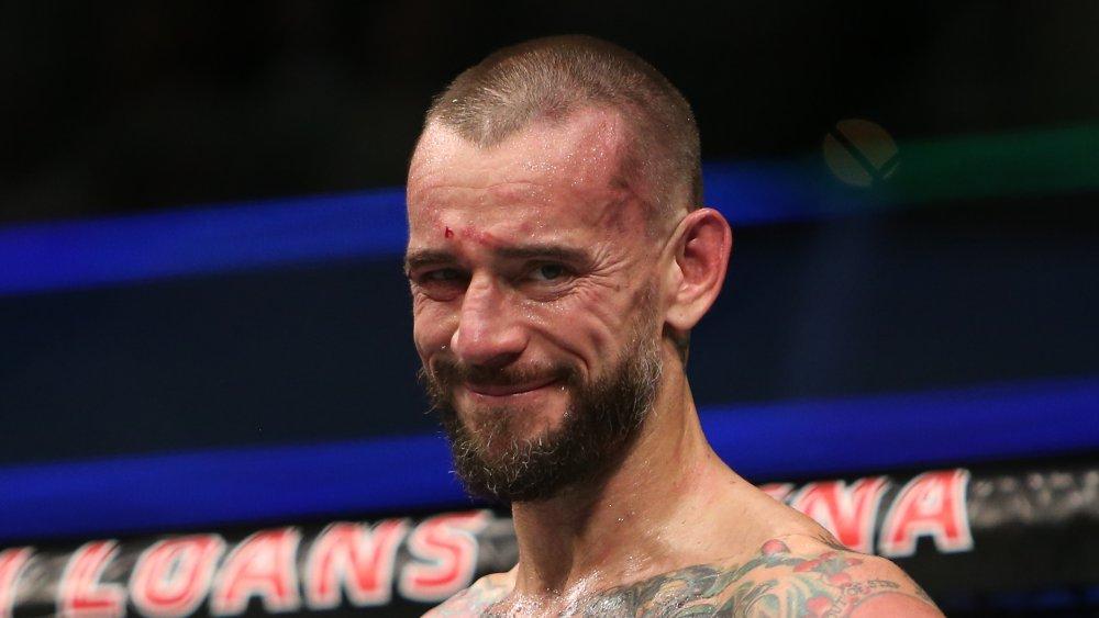 CM Punk beim UFC 203 Event