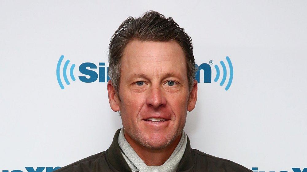 Lance Armstrong in den SiriusXM Studios im Jahr 2017