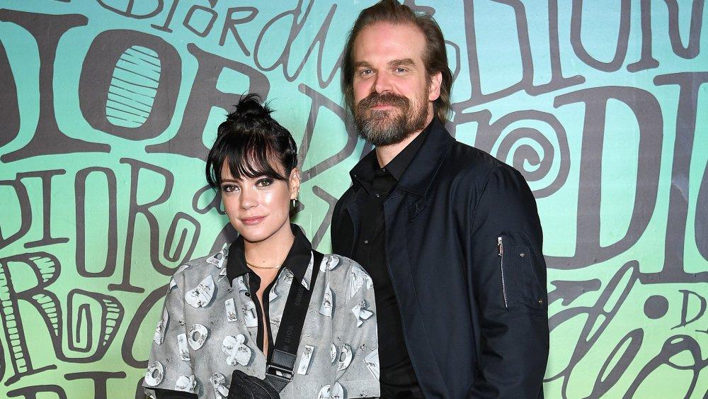 Lily Allen und David Harbour auf der Dior Men's Fall 2020 Runway Show
