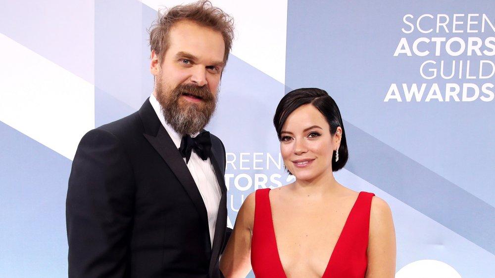 David Harbour und Lily Allen bei den 26. jährlichen Screen Actors Guild Awards