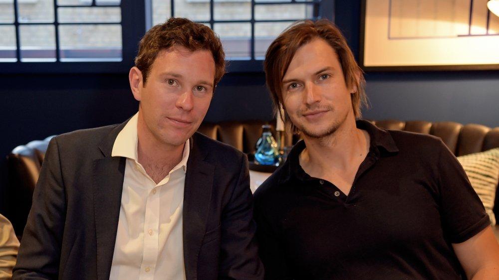 Craig Coyne und Freund