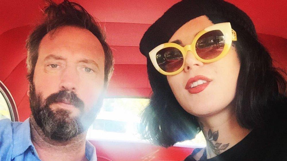 Tom Green und Kat Von D in einem Selfie auf Facebook