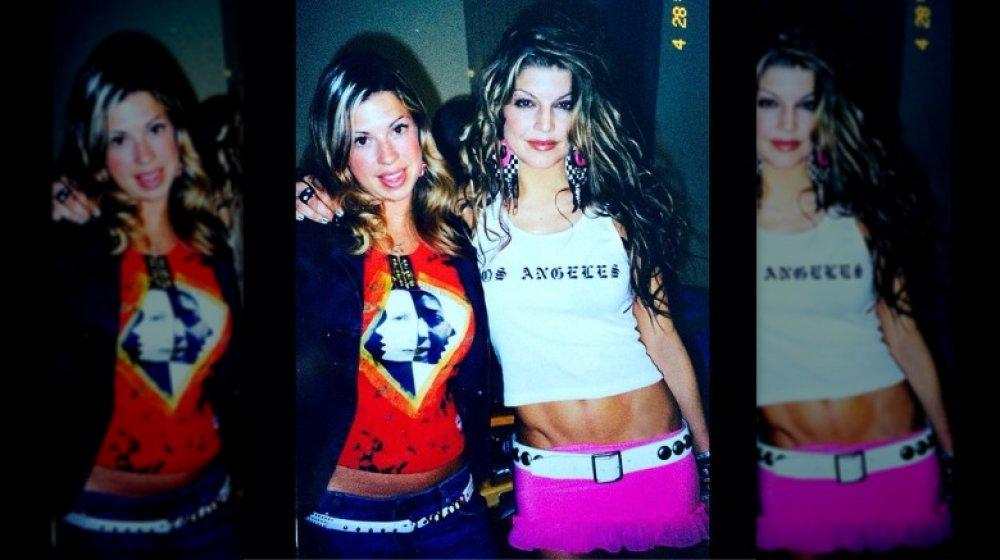 Rückfallfoto von Dana und Stacy Ferguson