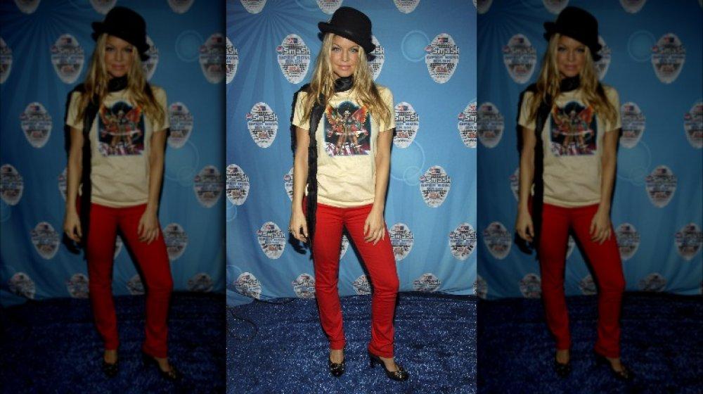 Fergie bei einer Super Bowl Party 2007