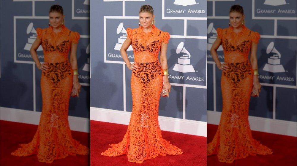 Fergie bei den Grammy Awards 2012