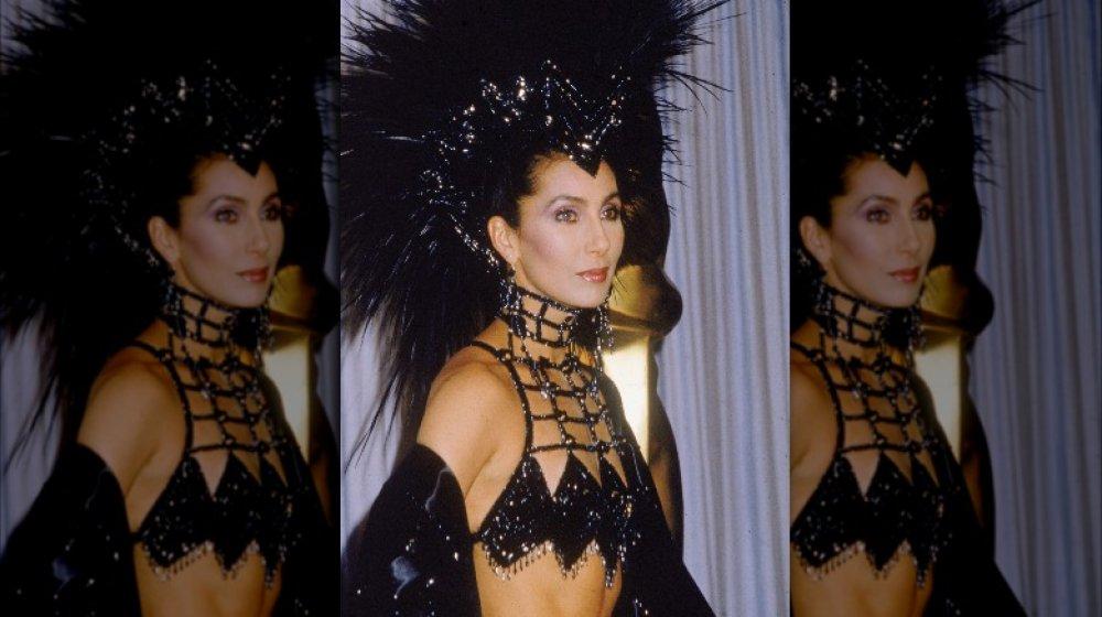 Cher bei den Academy Awards 1986