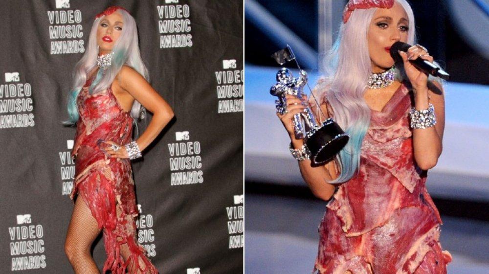 Lady Gaga bei den MTV VMAs 2010