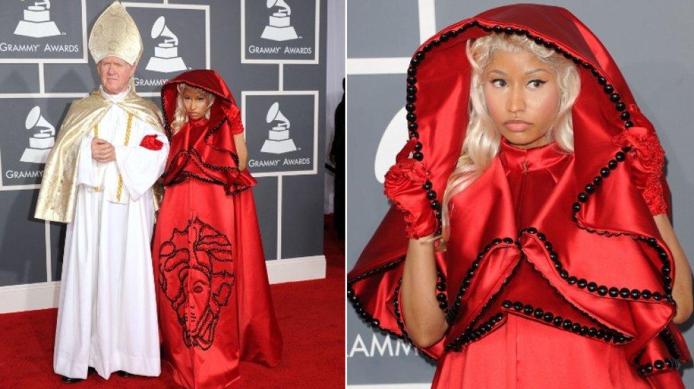 Nicki Minaj bei den Grammys 2012