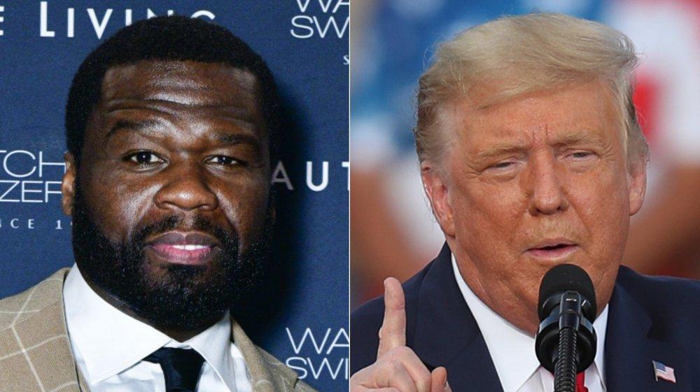50 Cent, Donald Trump