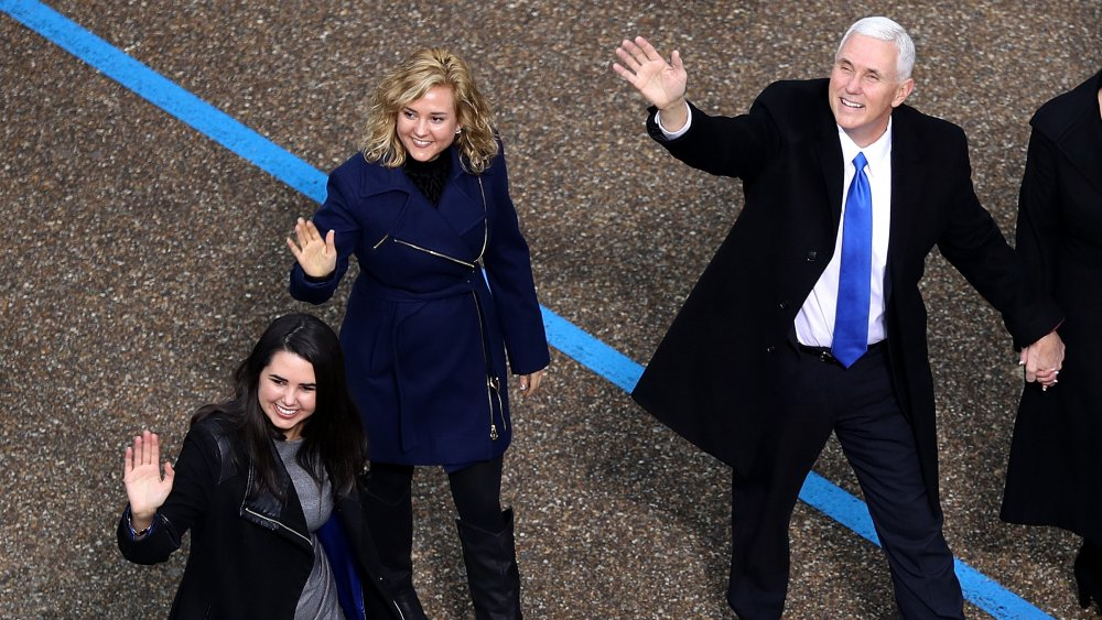 Charlotte Pence, Mike Pence und Audrey Pence