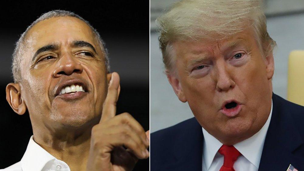 Präsident Barack Obama & Präsident Donald Trump