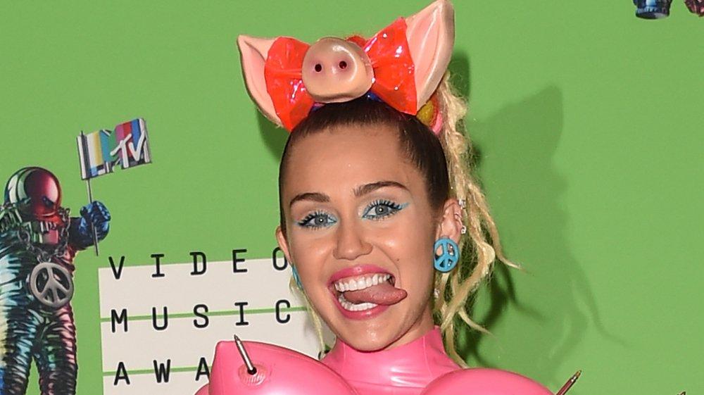 Miley Cyrus bei den MTV VMAs 2015