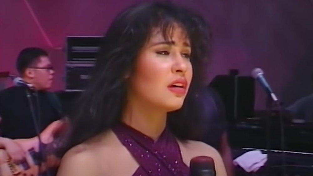 Selena Quintanilla auf der Bühne