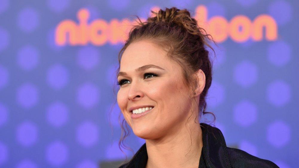 Ronda Rousey bei Nickelodeon Kids 'Choice Sports 2018