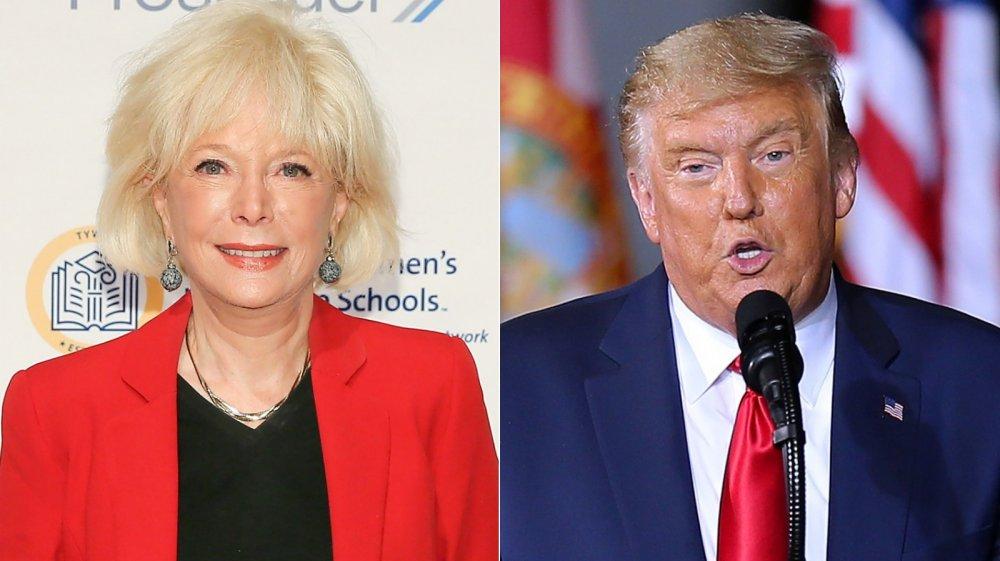 lesley stahl und Donald Trump