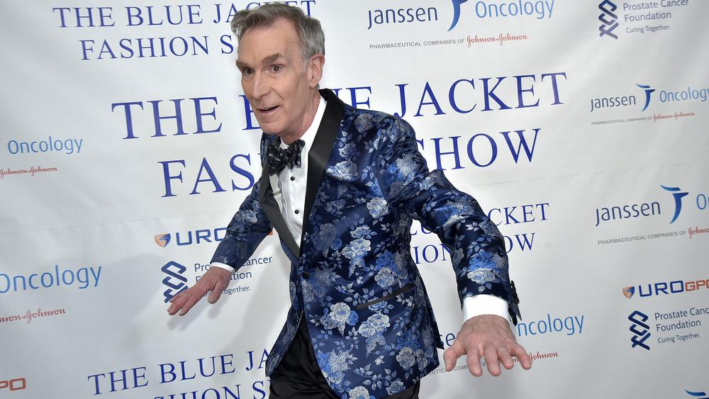 Bill Nye auf der Blue Jacket Fashion Show