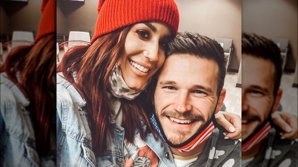 Chelsea Houska und Cole DeBoer in einem 2020 Instagram Selfie