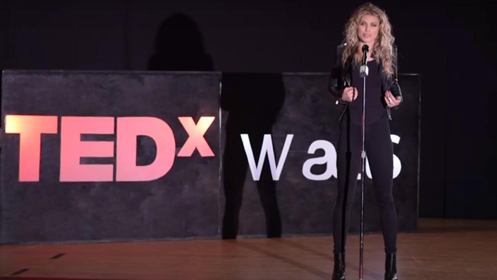 AnnaLynne McCord hält 2017 einen TED-Vortrag
