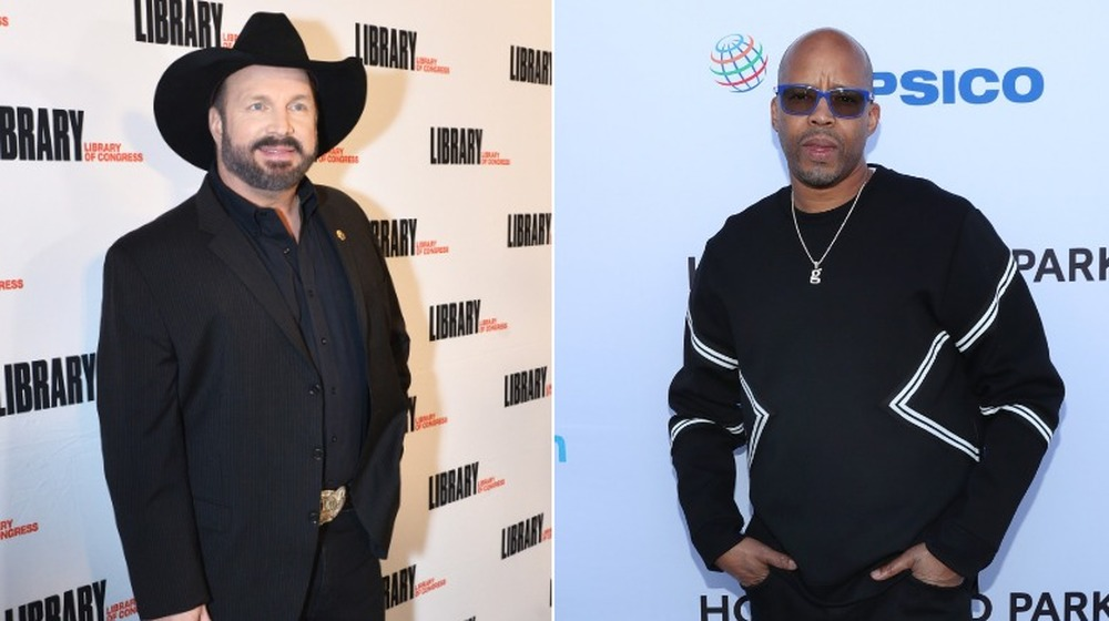 Garth Brooks und Warren G.