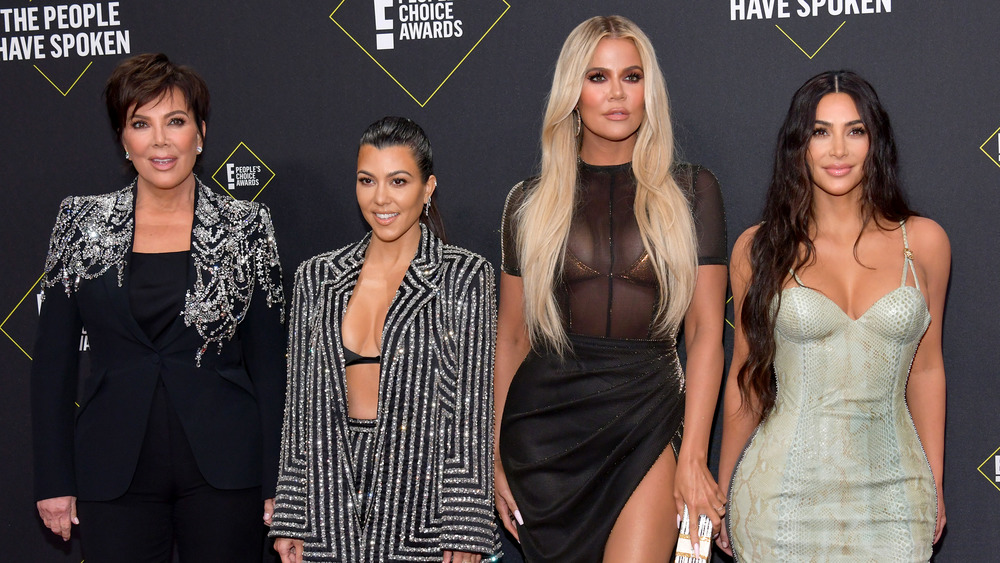 Kardashian Familie bei den People's Choice Awards