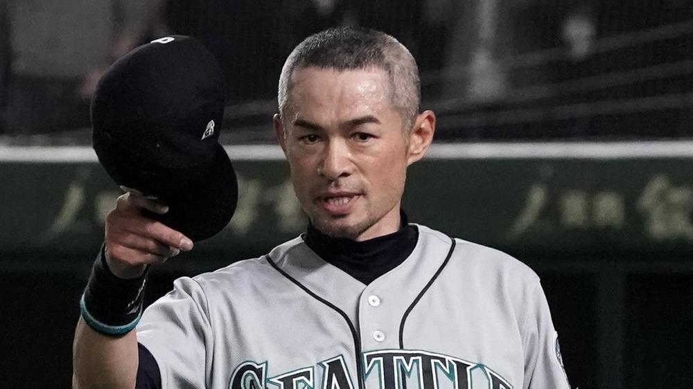 Ichiro Suzuki beim Baseballspiel