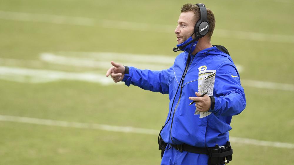 Sean McVay trainiert die LA Rams