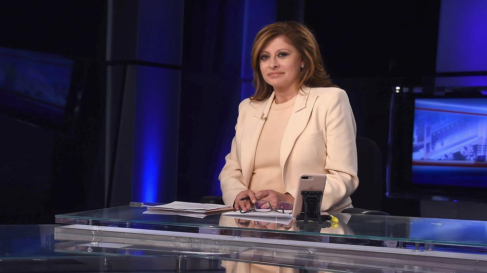 Maria Bartiromo auf Sendung