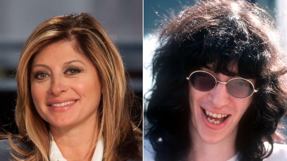 Maria Bartiromo, Joey Ramone;  Teilt
