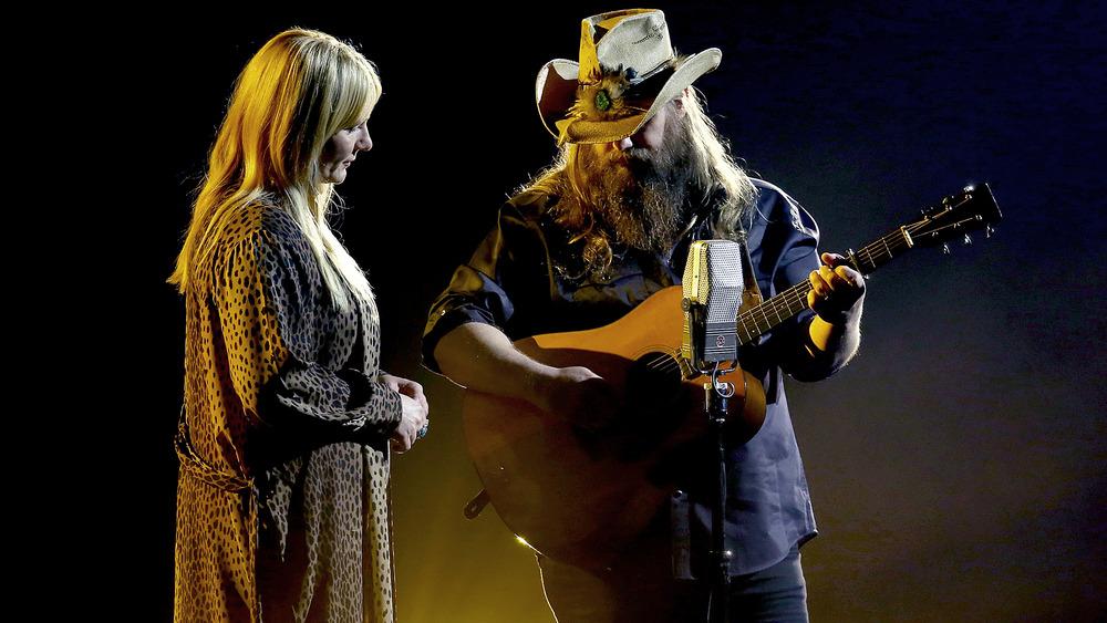 Chris und Morgane Stapleton treten 2020 bei den CMA Awards auf