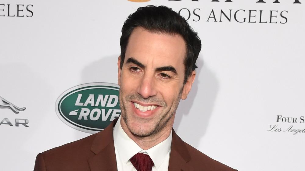 Sacha Baron Cohen lächelte