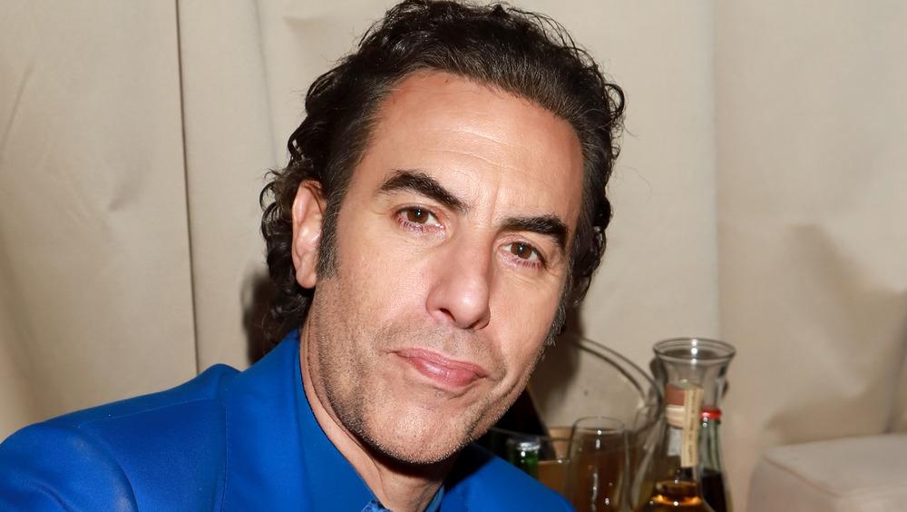 Sacha Baron Cohen auf der Party