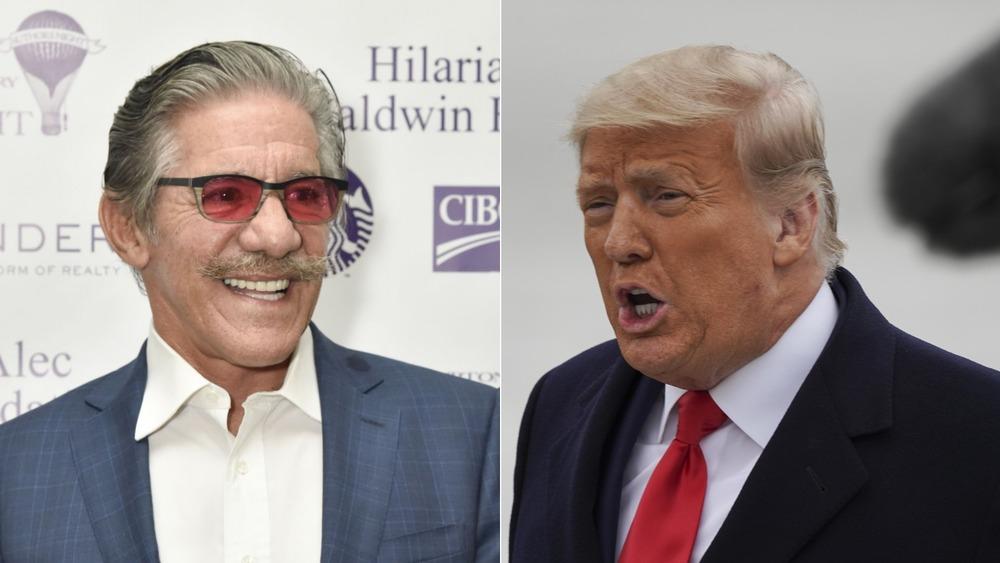 Geraldo Rivera und Donald Trump teilen den Bildschirm
