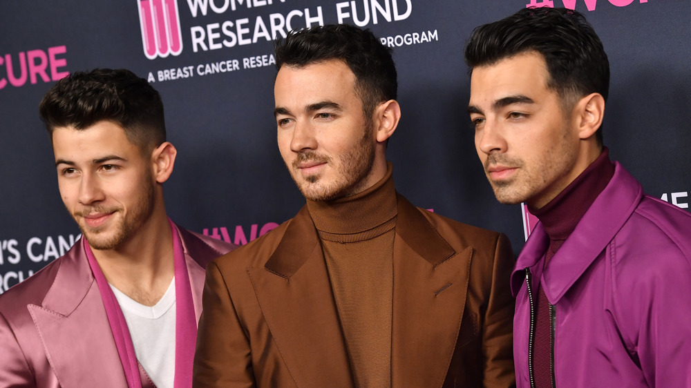 Die Jonas Brothers auf dem roten Teppich