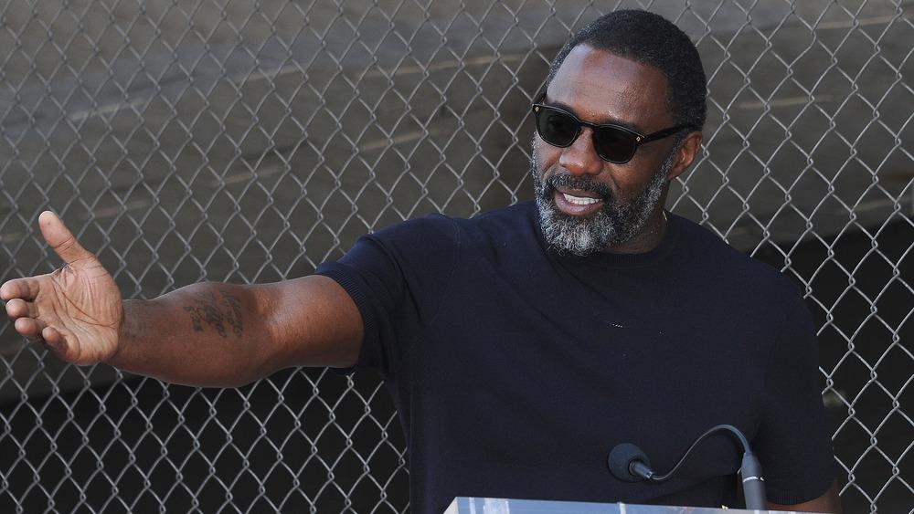 Idris Elba bei Tyler Perrys Star-Zeremonie auf dem Hollywood Walk of Fame