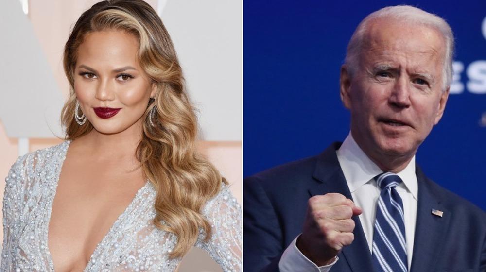 Chrissy Teigen und Joe Biden