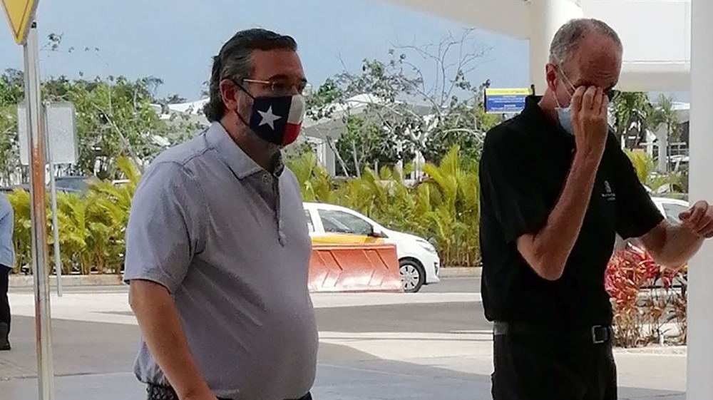Ted Cruz in Cancun