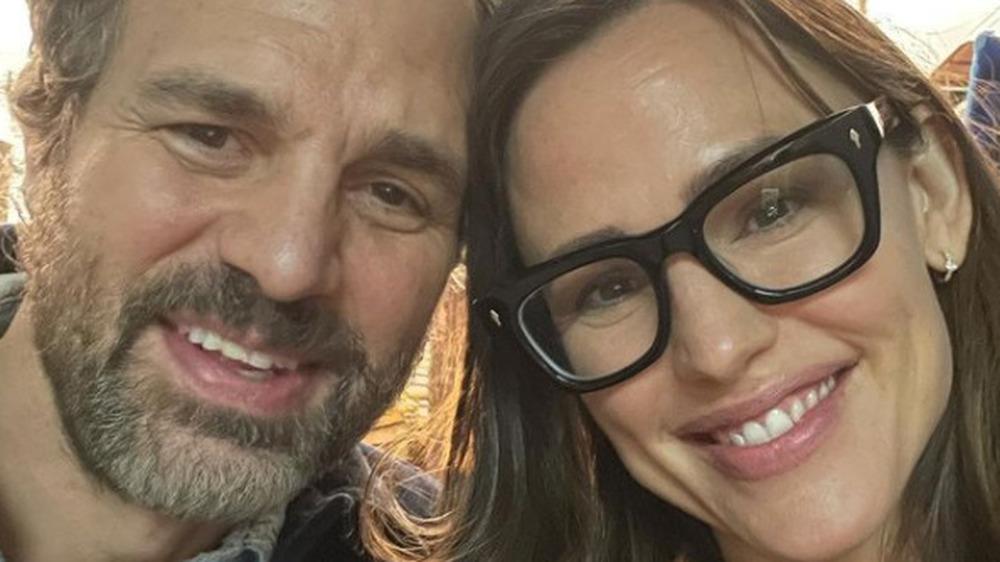 Jennifer Garner und Mark Ruffalo machen ein Selfie