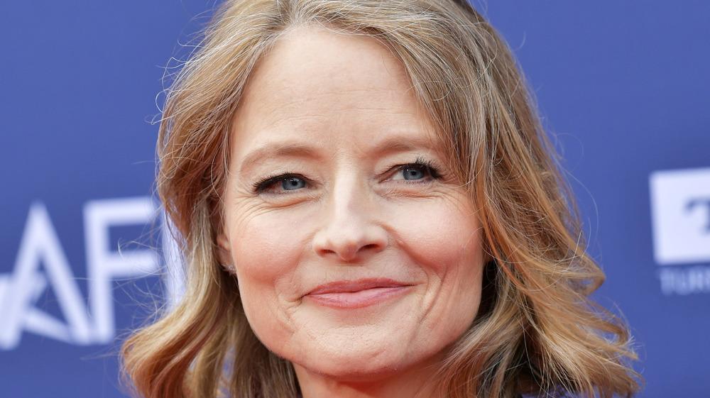 Jodie Foster lächelt