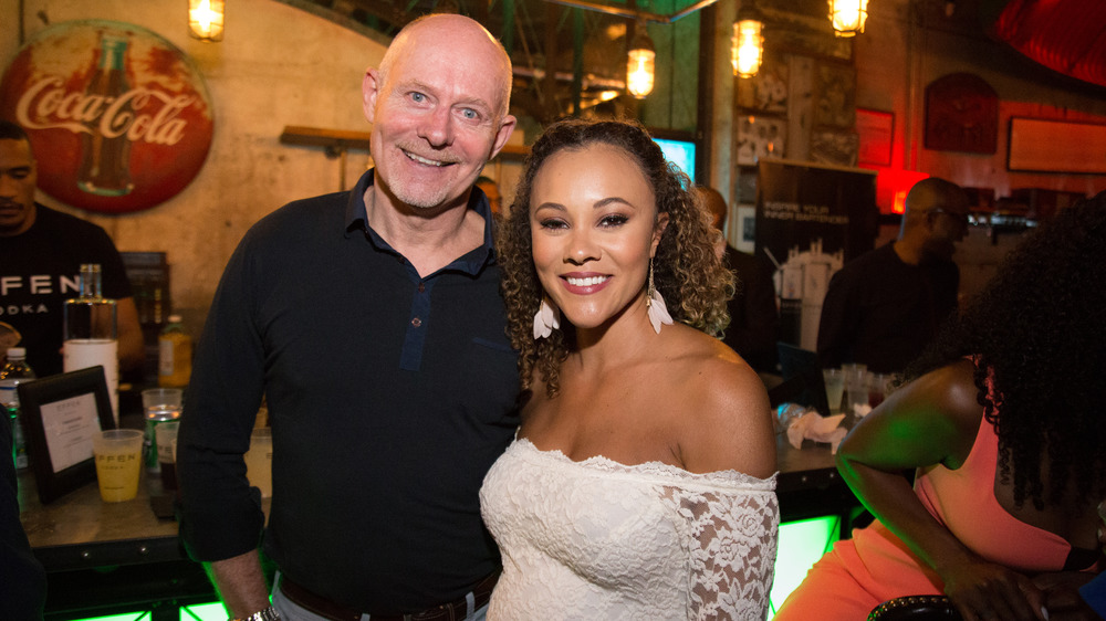 Ashley Boalch Darby und Michael Darby bei der Premiere Party von Real Housewives Of Potomac