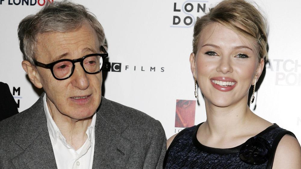 Woody Allen und Scarlett Johansson